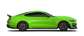 2020 Ford Mustang Shelby G T 500 in Grabber Lime