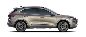 2020 Ford Escape Titanium Plug in Hybrid in Desert Gold