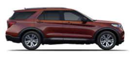 2020 Ford Explorer in Rich Copper Metallic