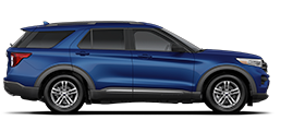 Una Ford Explorer X L T 2021 en Atlas Blue