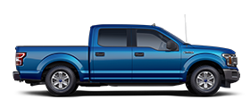 2020 Ford F 1 50 X L T in Velocity Blue
